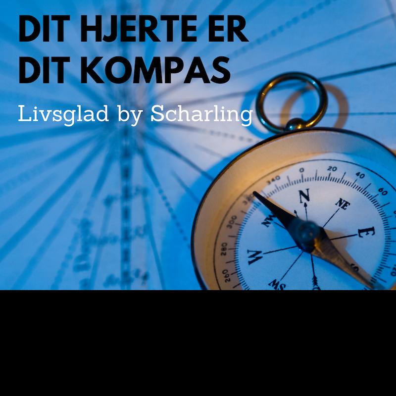 Kompas med tekst
